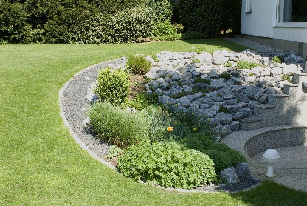 Umgestaltung eines Gartens