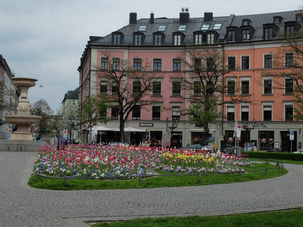Gartenanpflanzung Gärtnerplatz München