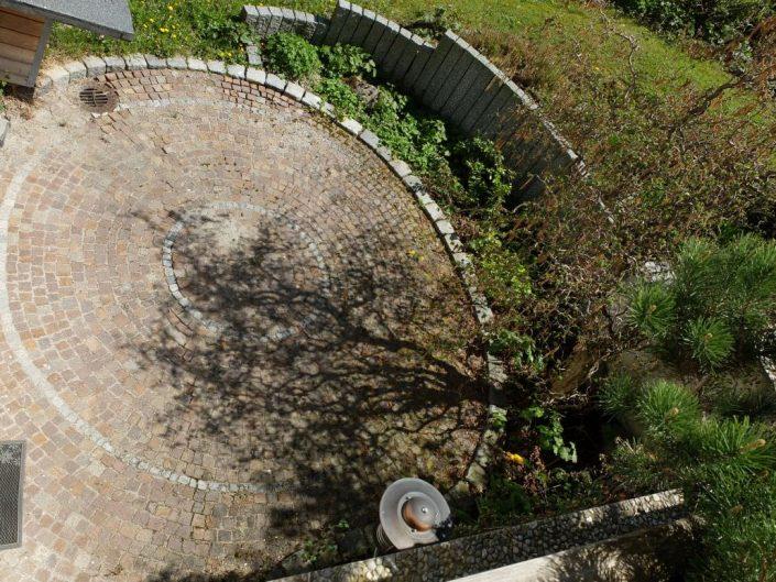 Pflasterbau in Gärten