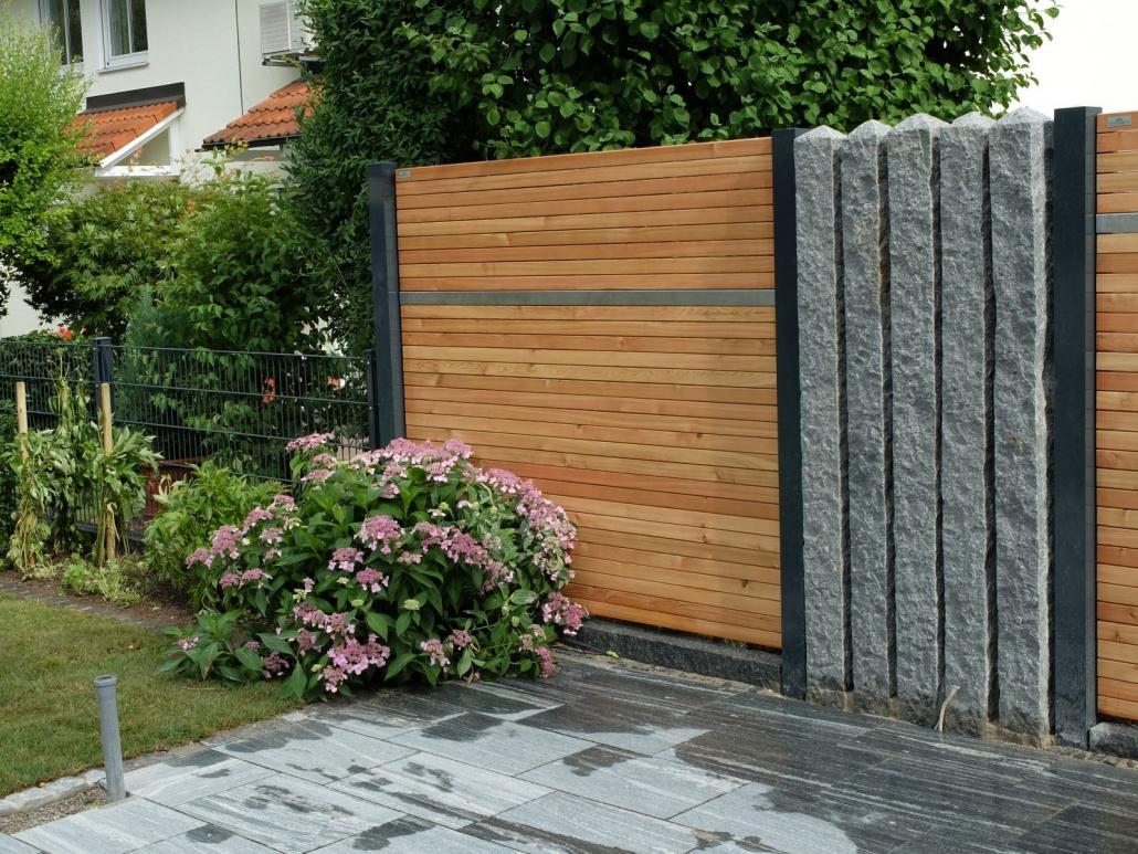 Gartenzaun Bau Gartenzaune Garten Sichtschutz Munchen Haar